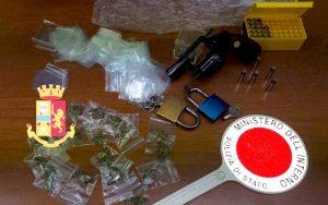 Torre Annunziata: padre e figlio sorpresi con armi e droga