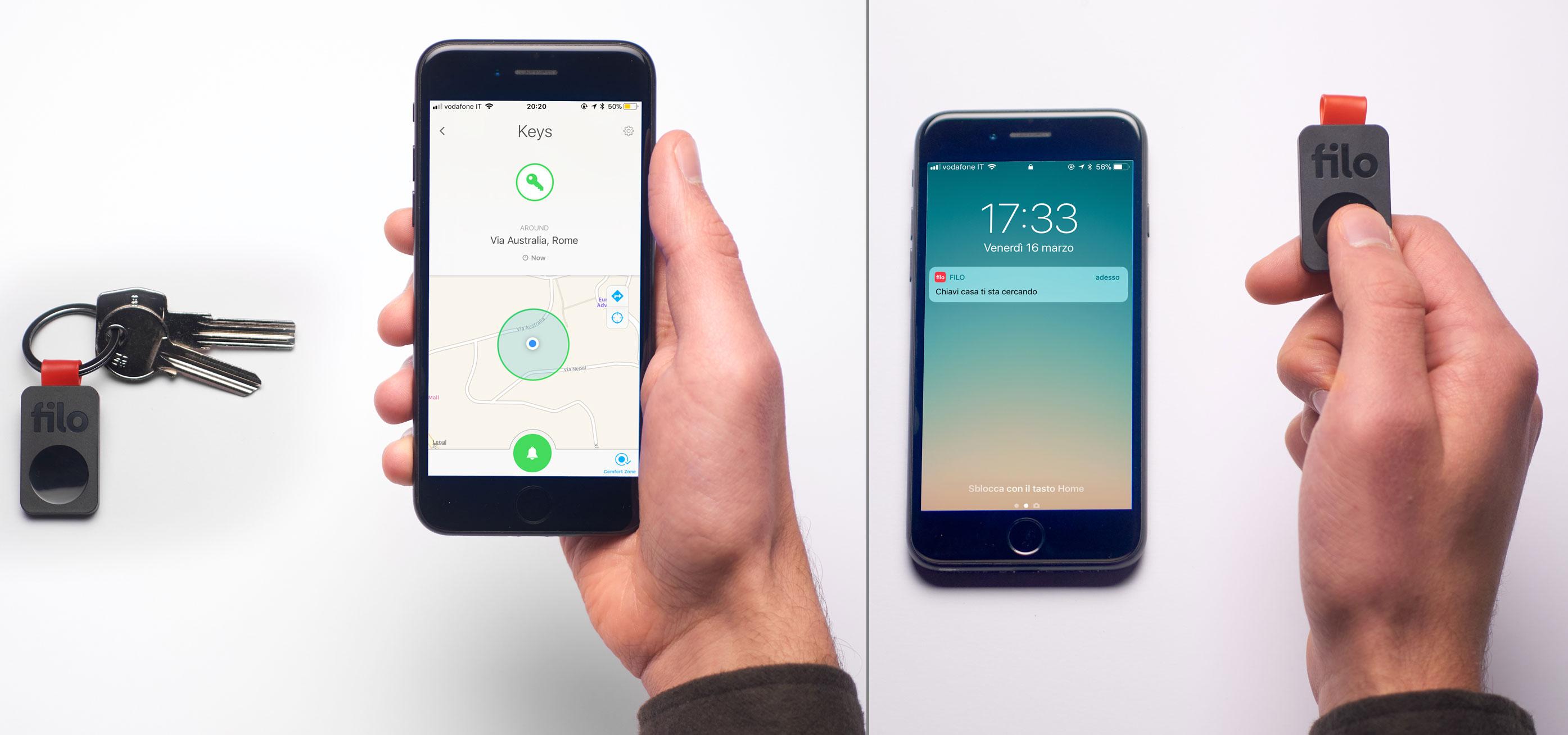 Tag, ora basta una app per non perdere le chiavi