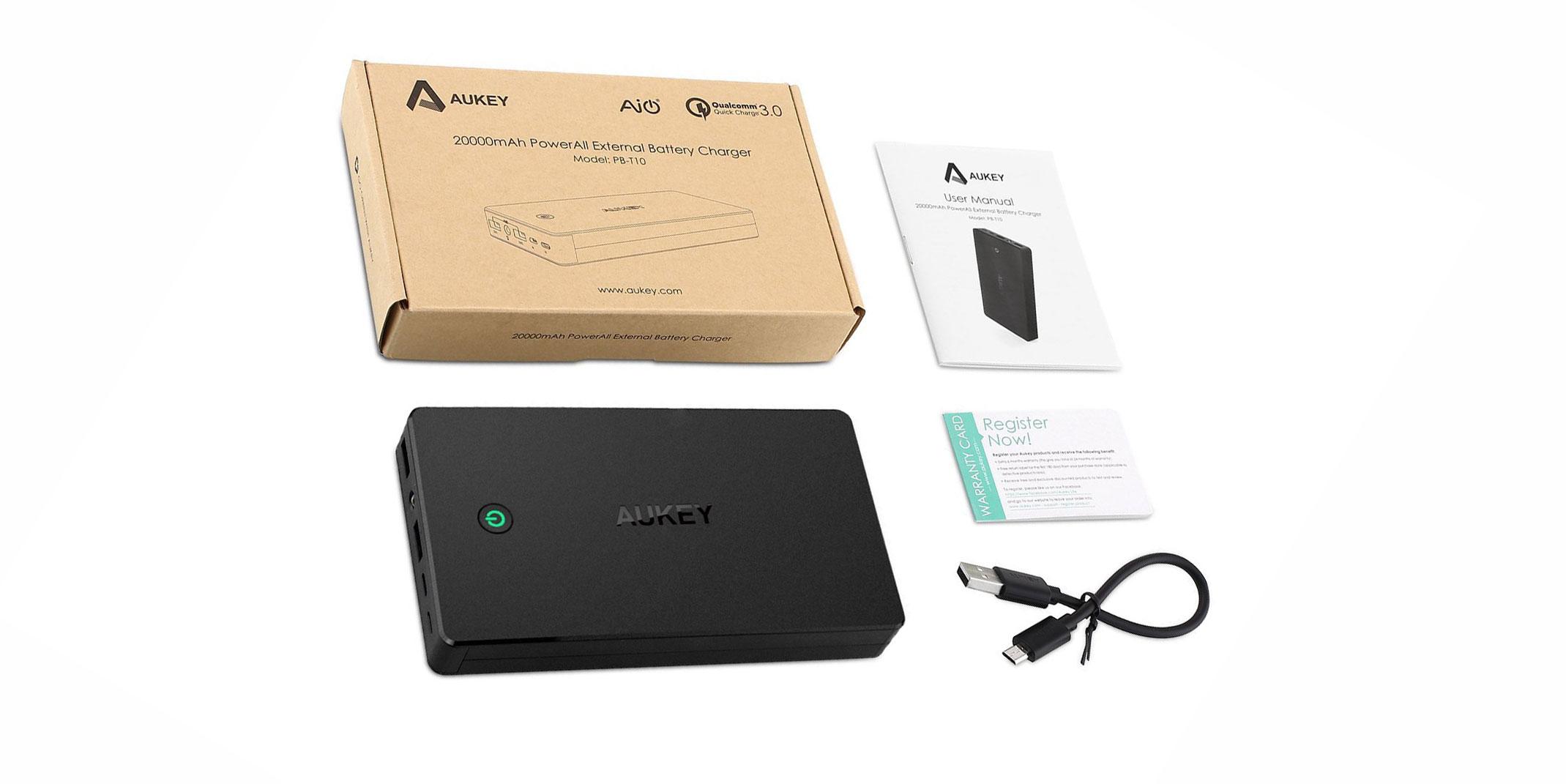 PB-T10, la batteria esterna portatile con Quick Charge